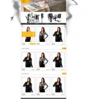 Інтернет-магазин брендового одягу – Anthropology