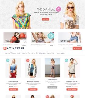 «Active Wear » — магазин одягу. Портфоліо
