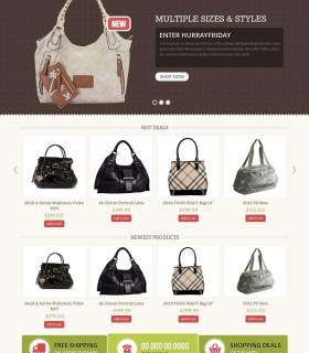 «Bag Shop» — інтернет-магазин жіночих сумок