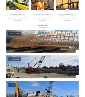 «Construction» – Сайт для строительной компании