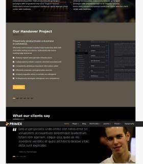 «Business» — Бизнес сайт заказать и пример