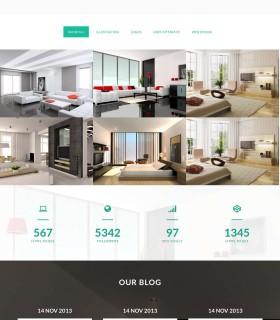 «Maya» – сайт інтер'єрів для дому