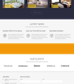 «Luxury Hotel» — Сайт для отеля