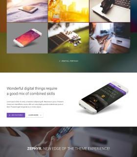 «Zephyr» — Бізнес сайт на замовлення