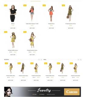 «Carera» — Интернет магазин одежды