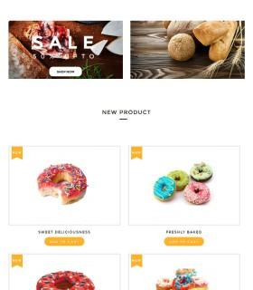 «Bakery» – сайт для кондитерской