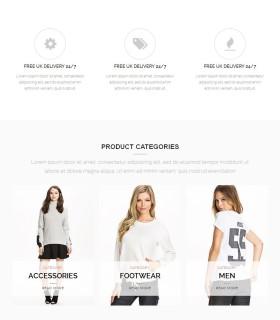 «Woopress» — мультилендинг для интернет магазина