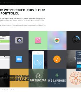 Espied — портфолио фотографов и дизайнеров