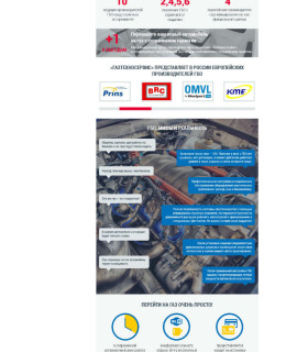 Газ Техносервис — корпоративный сайт