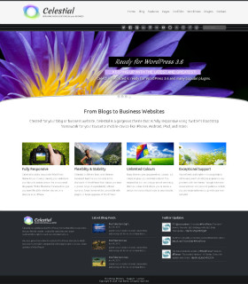 Celestial — бизнес сайт