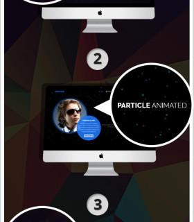 Lantern — персональный сайт блоггера